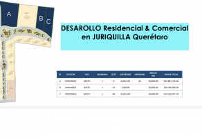 Foto de terreno comercial en venta en Fray Junípero Serra, Querétaro, Querétaro, 21544483,  no 01