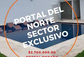 Foto de terreno habitacional en venta en Portal del Norte, General Zuazua, Nuevo León, 21001000,  no 01