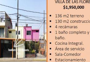 Foto de casa en venta en Villa de las Flores 1a Sección (Unidad Coacalco), Coacalco de Berriozábal, México, 20604870,  no 01