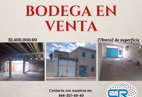 Foto de bodega en venta en Santa Anita, Saltillo, Coahuila de Zaragoza, 15225107,  no 01