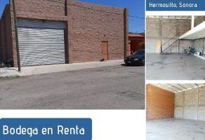 Foto de bodega en renta en San Benito, Hermosillo, Sonora, 20893354,  no 01