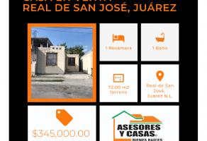 Foto de casa en venta en La Ciudadela Sector Real San José, Juárez, Nuevo León, 21239179,  no 01