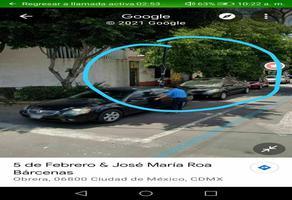 Foto de terreno habitacional en venta en 5 de febrero , obrera, cuauhtémoc, df / cdmx, 0 No. 01