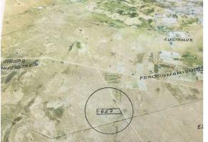 Foto de terreno industrial en venta en Zaragoza, Juárez, Chihuahua, 14835301,  no 01