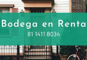 Foto de bodega en renta en Mitras Centro, Monterrey, Nuevo León, 20085583,  no 01