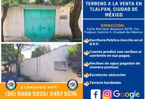 Foto de terreno habitacional en venta en Tlalpan Centro, Tlalpan, DF / CDMX, 12541822,  no 01