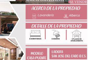 Foto de casa en venta en San José del Cabo Centro, Los Cabos, Baja California Sur, 21204414,  no 01