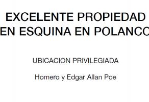 Foto de terreno habitacional en venta en Polanco V Sección, Miguel Hidalgo, DF / CDMX, 17784614,  no 01