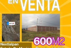Foto de terreno habitacional en venta en Los Aguiluchos, Nextlalpan, México, 20312514,  no 01