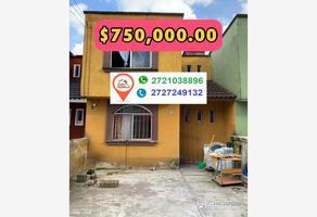 Foto de casa en venta en 6 septiembre , villas de tenango, río blanco, veracruz de ignacio de la llave, 16091761 No. 01