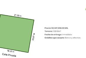 Foto de terreno habitacional en venta en  , 60 norte, mérida, yucatán, 14158669 No. 01