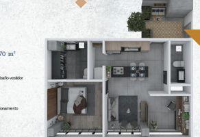 Foto de departamento en venta en Barrio de Santiago, Aguascalientes, Aguascalientes, 21920817,  no 01