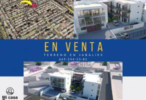 Foto de terreno habitacional en venta en Jabalíes, Mazatlán, Sinaloa, 17679203,  no 01