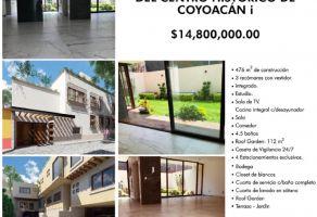 Foto de casa en venta en Barrio San Lucas, Coyoacán, DF / CDMX, 15741857,  no 01