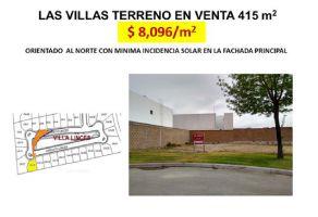 Foto de terreno habitacional en venta en Las Villas, Torreón, Coahuila de Zaragoza, 16319347,  no 01