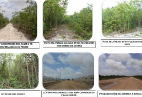 Foto de terreno comercial en venta en Cancún Centro, Benito Juárez, Quintana Roo, 6950208,  no 01