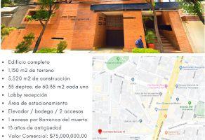 Foto de edificio en venta en San José Insurgentes, Benito Juárez, DF / CDMX, 15539117,  no 01