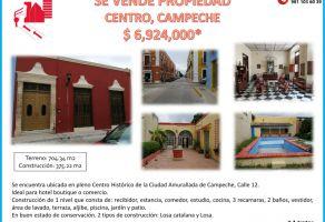 Foto de casa en venta en San Francisco de Campeche  Centro., Campeche, Campeche, 20170992,  no 01