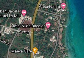 Foto de terreno habitacional en venta en Bacalar, Bacalar, Quintana Roo, 16827332,  no 01