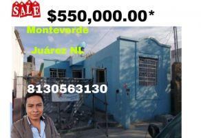 Foto de casa en venta en Calderón, Juárez, Nuevo León, 22173001,  no 01