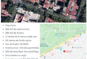 Foto de casa en venta en San Miguel Chapultepec I Sección, Miguel Hidalgo, DF / CDMX, 14693572,  no 01