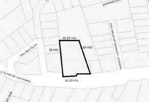 Foto de terreno habitacional en venta en Olivar de los Padres, Álvaro Obregón, DF / CDMX, 11015401,  no 01
