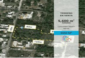Foto de terreno comercial en venta en 8 , sitpach, mérida, yucatán, 0 No. 01