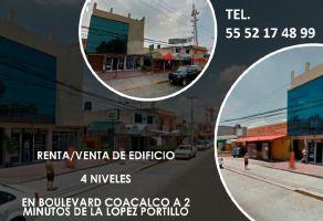 Foto de edificio en renta en Villa de las Flores 2a Sección (Unidad Coacalco), Coacalco de Berriozábal, México, 13737002,  no 01