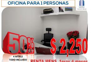 Foto de oficina en renta en Tabacalera, Cuauhtémoc, DF / CDMX, 15956618,  no 01
