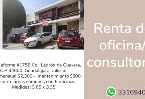 Foto de oficina en renta en Ladrón de Guevara, Guadalajara, Jalisco, 20605189,  no 01