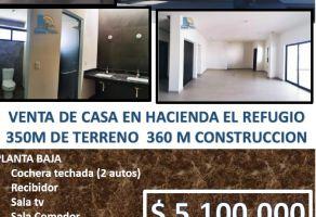 Foto de casa en venta en Hacienda del Refugio, Saltillo, Coahuila de Zaragoza, 14694098,  no 01