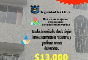 Foto de departamento en renta en Jardines de Satélite, Naucalpan de Juárez, México, 20934544,  no 01