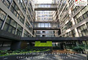 Foto de departamento en renta en Carola, Álvaro Obregón, DF / CDMX, 15866911,  no 01