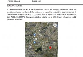 Foto de terreno habitacional en venta en Colinas del Bosque 1a Sección, Corregidora, Querétaro, 17022131,  no 01