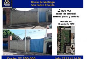 Foto de terreno habitacional en venta en Cholula, San Pedro Cholula, Puebla, 16749065,  no 01