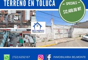 Foto de terreno habitacional en venta en La Merced  (Alameda), Toluca, México, 20795624,  no 01