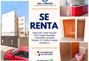 Foto de departamento en renta en Sauzales Cebadales, Tlalpan, DF / CDMX, 20456895,  no 01