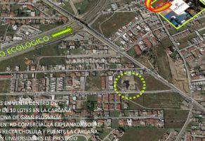 Foto de terreno habitacional en venta en La Carcaña, San Pedro Cholula, Puebla, 13054591,  no 01