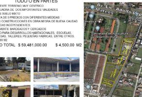 Foto de terreno habitacional en venta en San Miguel Zinacantepec, Zinacantepec, México, 13008916,  no 01