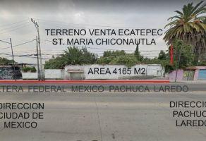 Foto de terreno comercial en venta en Santa María Chiconautla, Ecatepec de Morelos, México, 13204870,  no 01