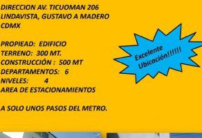 Foto de edificio en venta en Lindavista Vallejo I Sección, Gustavo A. Madero, DF / CDMX, 16430418,  no 01