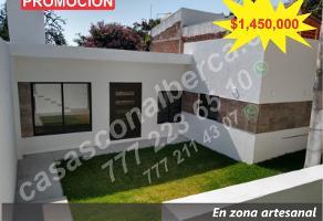 Foto de casa en venta en a 1 min. de la tienda 3b 1, 3 de mayo, emiliano zapata, morelos, 15784418 No. 01