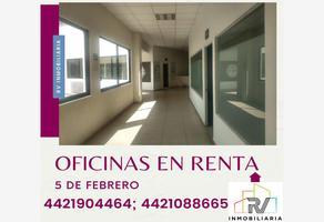 Foto de oficina en renta en a pie lateral 5 febrero , la capilla, querétaro, querétaro, 15965812 No. 01