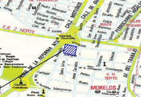 Foto de terreno habitacional en venta en Morelos, Cuauhtémoc, DF / CDMX, 17668986,  no 01