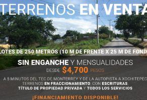 Foto de terreno habitacional en venta en 3 de Mayo, Xochitepec, Morelos, 7576742,  no 01