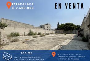 Foto de terreno habitacional en venta en Leyes de Reforma 3a Sección, Iztapalapa, DF / CDMX, 21487784,  no 01