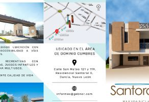 Foto de casa en condominio en venta en Santoral, García, Nuevo León, 20476248,  no 01