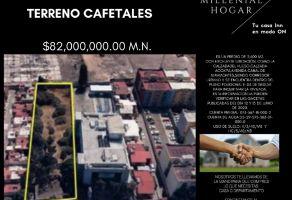 Foto de terreno habitacional en venta en Cafetales, Coyoacán, DF / CDMX, 20893030,  no 01
