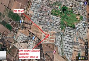 Foto de terreno comercial en venta en abadia de sacromonte 45, misión de santa fe, aguascalientes, aguascalientes, 0 No. 01