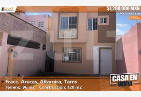 Foto de casa en venta en abeto 205, arecas, altamira, tamaulipas, 0 No. 01